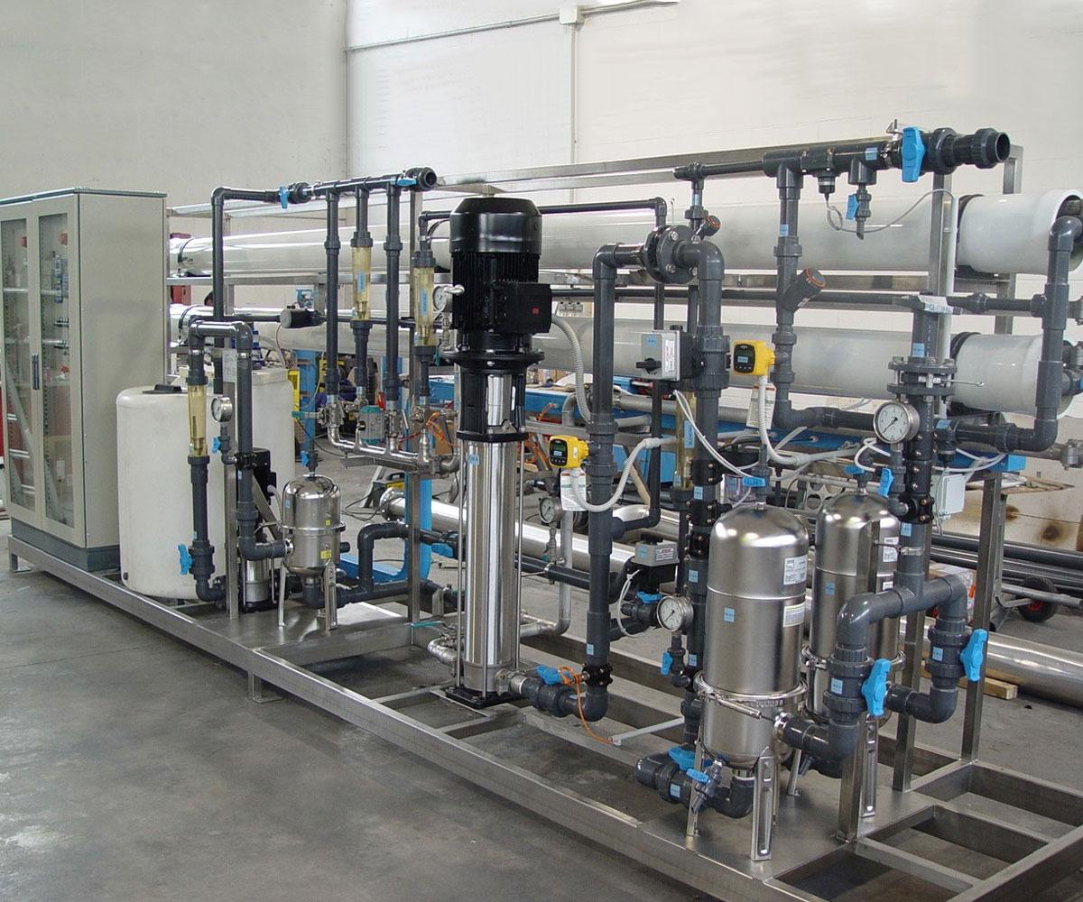 Impianti di Depurazione per Vetrerie  IMMMES  Impianti - Strutture - Energia