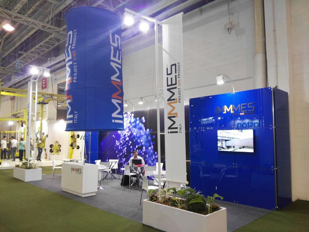 Il nostro stand alla Glass South America tecnologia & design.