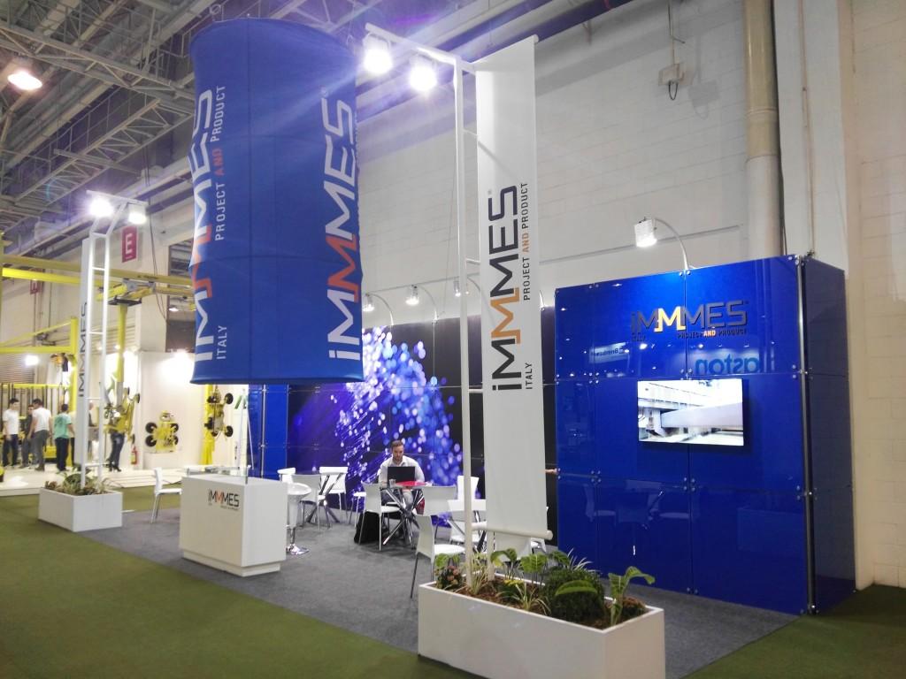 Il nostro stand alla Glass South America tecnologia & design.